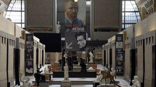 Une vue générale du musée d'Orsay à Paris, le 10 mars 2014, à la veille del'exposition consacrée au peintre Vincent Van Gogh et à l'écrivain Antonin Artaud. (BERTRAND GUAY / AFP)