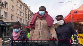 Le masque est désormais obligatoire en classe pour les enfants dès six ans. (France 2)