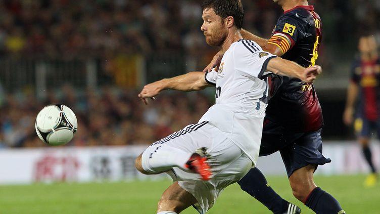 Xavi Alonso songe à prolonger. (QUIQUE GARCIA / AFP)