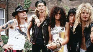 Guns'n'Roses version originale, en 1986.  (Ilpo Musto / Rex Featur/REX/SIPA)