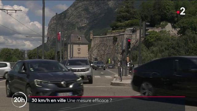 Sécurité routière : la mesure de limitation à 30km/h dans les agglomérations est-elle efficace ?