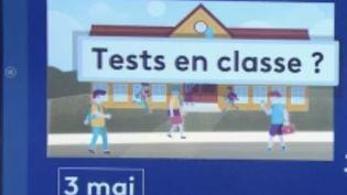 Déconfinement : un protocole sanitaire renforcé pour la réouverture des écoles (FRANCE 2)