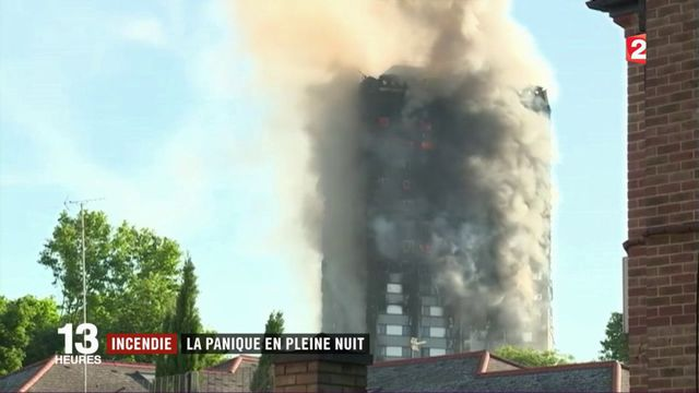 Incendie à Londres : le bâtiment était-il aux normes de sécurité ?