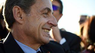 Nicolas Sarkozy au zoo de Beauval, le 22 novembre 2017. (GUILLAUME SOUVANT / AFP)