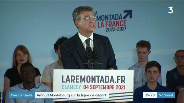 Présidentielle 2022 : Arnaud Montebourg annonce sa candidature