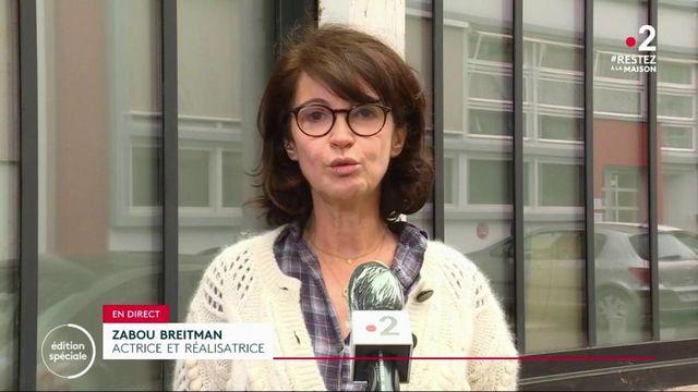 """Zabou Breitman : """"L'énergie est quelque chose de très compliqué à conserver en confinement"""""""