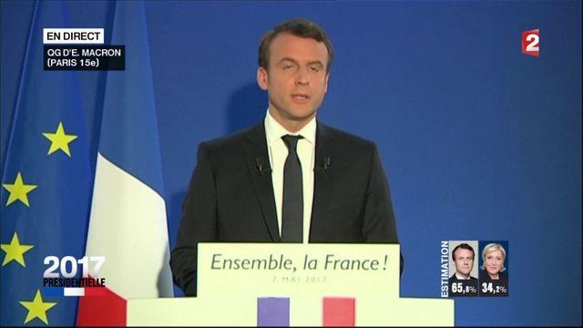 Le discours d'Emmanuel Macron en intégralité