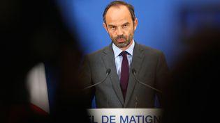 Le Premier ministre Edouard Philippe, le 29 juin 2017. (GEOFFROY VAN DER HASSELT / AFP)