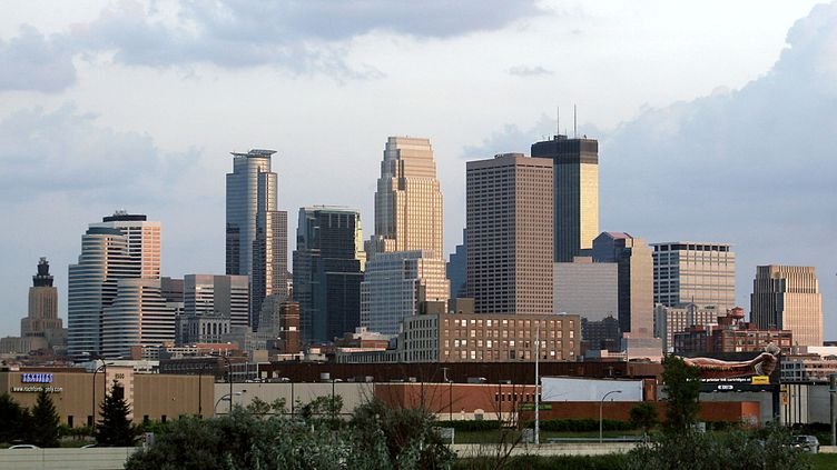 Minneapolis, dans le Minnesota (Etats-Unis), en 2006. (KAREN BLEIER / AFP)