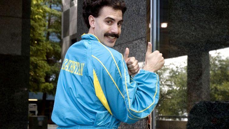 """Image extraite du film """"Borat"""", de Larry Charles, avec Sacha Baron Cohen, sorti en2006. ( 20TH CENTURY FOX / THE KOBAL COLLECTION / AFP)"""