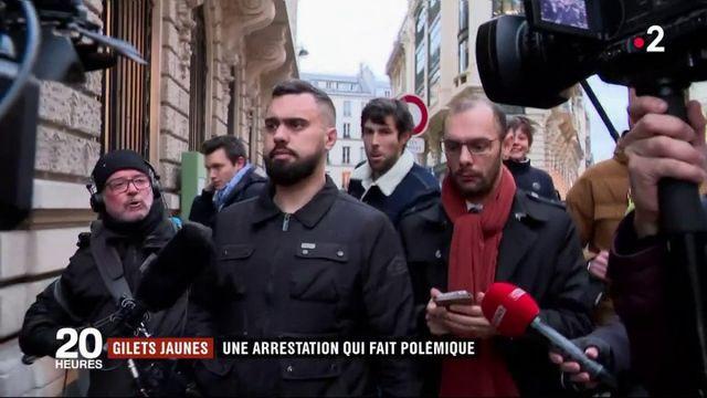 """""""Gilets jaunes"""" : une arrestation qui fait polémique"""