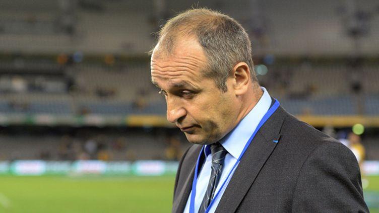 Philippe Saint-André la tête basse (MAL FAIRCLOUGH / AFP)