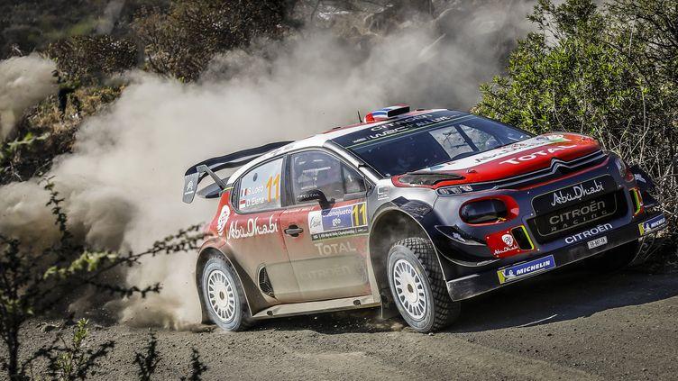 Sébastien Loeb (Citroën) au Mexique (FRANCOIS FLAMAND / DPPI MEDIA)