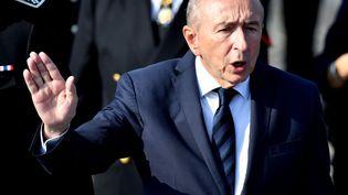 Gérard Collomb, le 14 juillet 2018, à Paris. (MUSTAFA YALCIN / ANADOLU AGENCY / AFP)