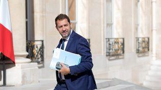 Christophe Castaner le 7 juin 2017, à l'Elysée, à Paris. (MAXPPP)