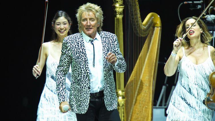 Rod Stewart en concert à Berlin, 31 mai 2016  (AAPimages / Christian Behring / AAPimages / Christian Behring / DPA)
