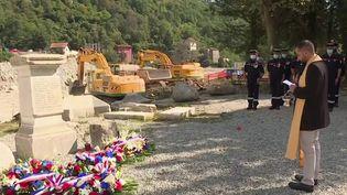Tempête Alex : les Alpes-Maritimes rendent hommage aux victimes (France 3)