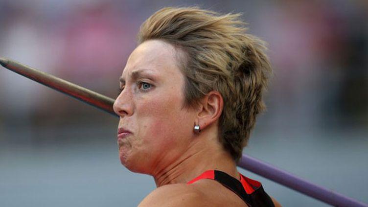 L'athlète allemande Cristina Obergföll