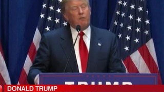 Donald Trump candidat à la présidence américaine