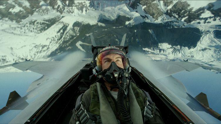"""Tom Cruise dans la peau de Capitaine Pete """"Maverick"""" Mitchell dans """"Top Gun: Maverick"""". (PARAMOUNT PICTURES)"""