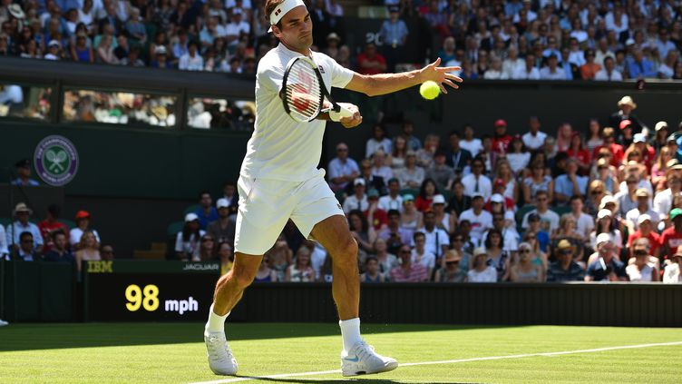 Roger Federer (Wimbledon 2018). (GLYN KIRK / AFP)