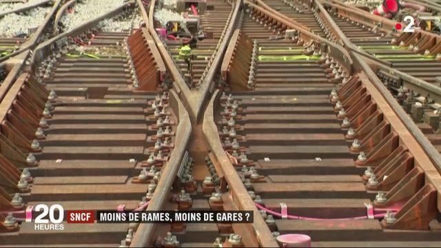 SNCF : bientôt moins de rames et de gares ?