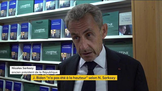 """""""Ça ne se fait pas entre amis"""" : Nicolas Sarkozy prend la parole au sujet de la crise des sous-marins"""