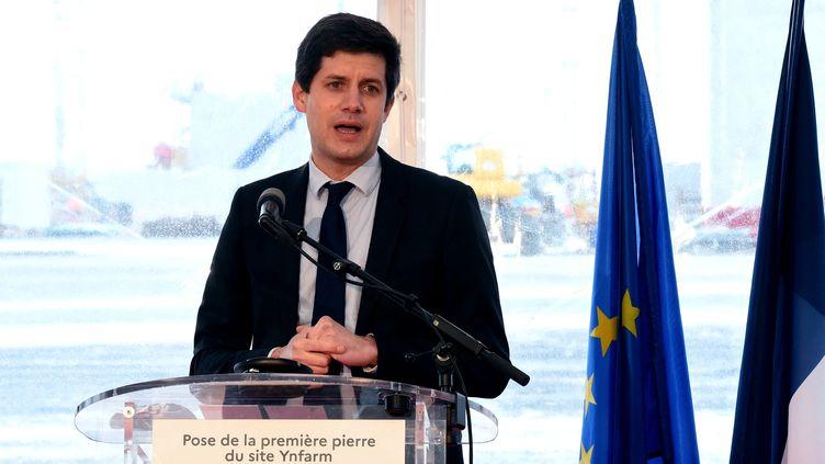 Julien Denormandie en mai 2021. (FRANCOIS LO PRESTI / AFP)