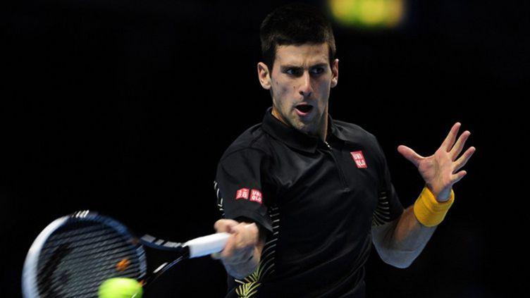 Novak Djokovic.  (GLYN KIRK / AFP)