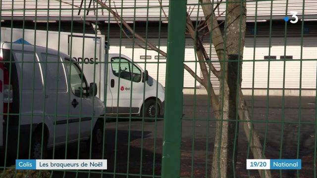 Noël : deux faux livreurs dérobent plus d'un million d'euros de colis
