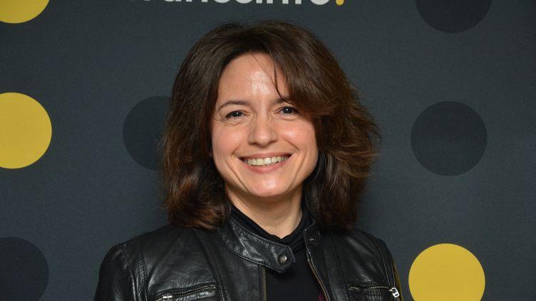 """Vanessa Pontet, co-auteure et co-réalisatrice de """"La guerre des trônes"""" sur France 5. (JEAN-CHRISTOPHE BOURDILLAT / RADIO FRANCE)"""