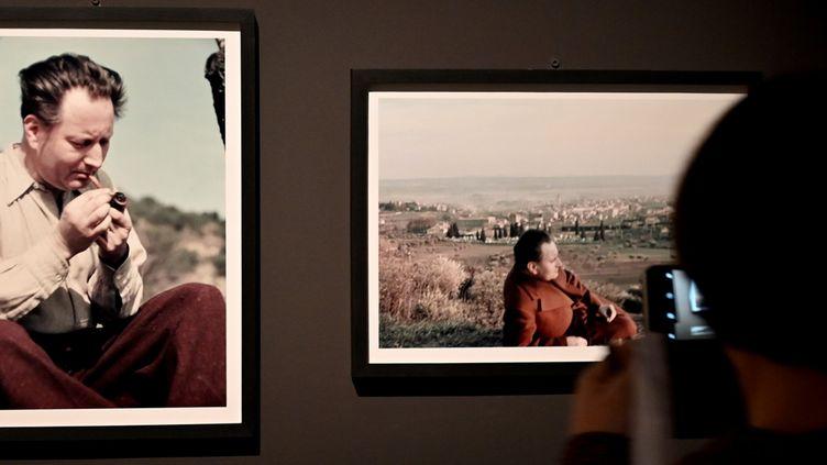 Photographies deGisele Freund présentée à l'exposition Giono au MuCem, 29 octobre 2019 (GERARD JULIEN / AFP)