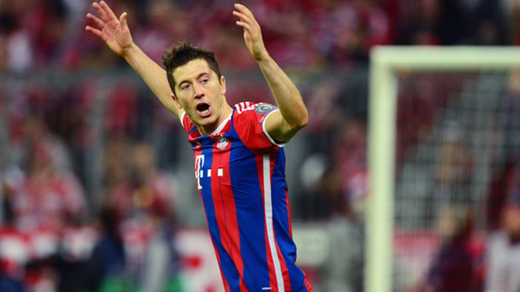 Robert Lewandowski (Bayern Munich) (JOHN MACDOUGALL / AFP)