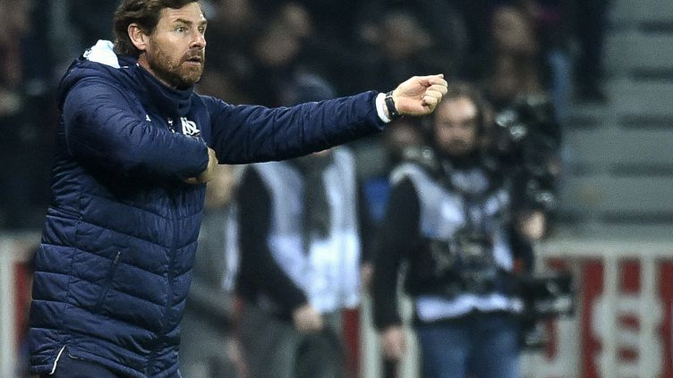 André Villas Boas, entraîneur de l'Olympique de Marseille. (FRANCOIS LO PRESTI / AFP)