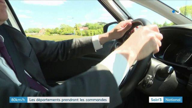 Vitesse à 80 km/h : les départements pourront décider du retour à 90 km/h