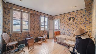 La maison de Louis Pasteur à Arbois (Jura) est restée intacte depuis le dernier séjourde l'inventeur du vaccin contre la rage en 1894. (Fondation du patrimoine / MyPhotoAgency - J. Sezille)
