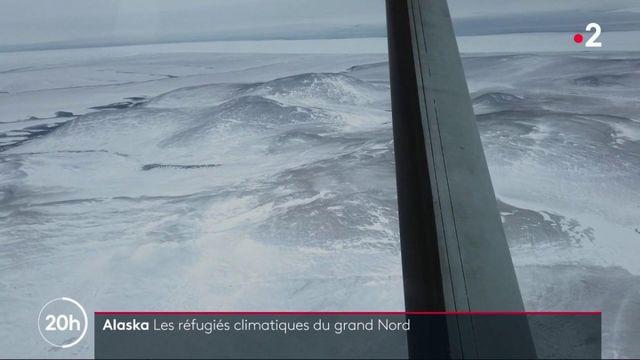 Climat : en Alaska, une île risque d'être engloutie par les flots