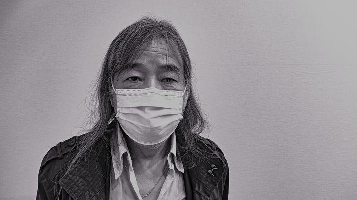 Yan Pei-Ming (Photographie: Christophe Airaud)