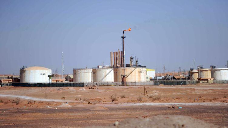 Le site gazier d'In Amenas (Algérie), le 18 janvier 2012. (FAROUK BATICHE / AFP)