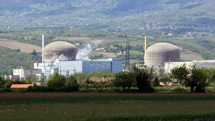 La centrale nucléaire EDF de Saint-Alban (JEAN-FRAN?OIS SOUCHET / MAXPPP)