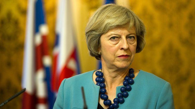 (La chef du gouvernement britannique Theresa May se laisse du temps concernant le projet d'Hinkley Point © SAMUEL KUBANI / AFP)