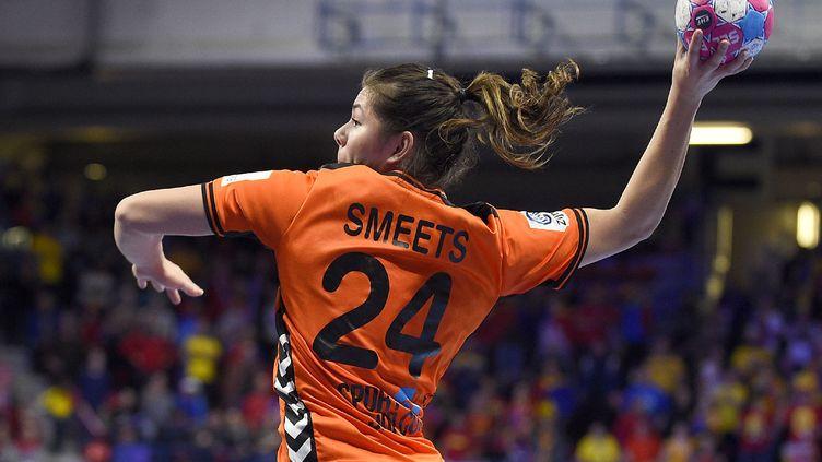La Néerlandais Martine Smeets (JEAN-CHRISTOPHE VERHAEGEN / AFP)