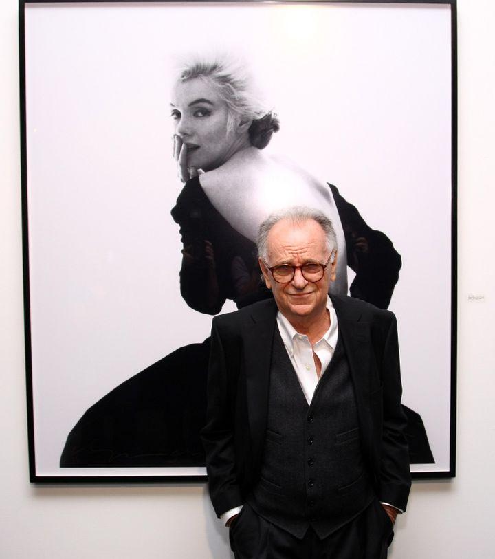 Bert Stern en 2011 à New-York  (Neilson Barnard / GETTY IMAGES NORTH AMERICA / AFP)