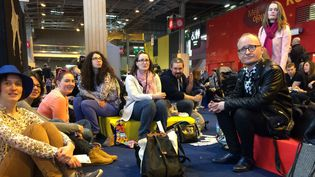 Les membres de l'association Vendredi Lecture au Salon Livres Paris 25 mars 2017  (Laurence Houot / Culturebox)