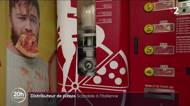 Italie : un distributeur de pizzas fait scandale à Rome