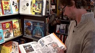 Emmanuel Dève libraire à Limoges  (France3/culturebox)