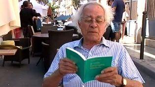 Le poète haïtien Anthony Phelps à Sète  (France Télévisions)