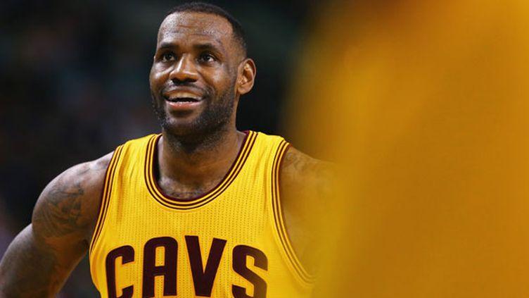 Le joueur des Cavs, LeBron James