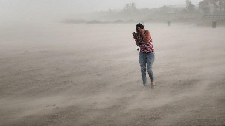 L'ouragan Dorian se dirige vers la Floride (Etats-Unis), après avoir frappé les Bahamas, le lundi 2 septembre 2019. (SCOTT OLSON / GETTY IMAGES NORTH AMERICA)