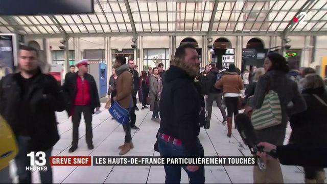 Grève SNCF : la région des Hauts-de-France particulièrement touchée